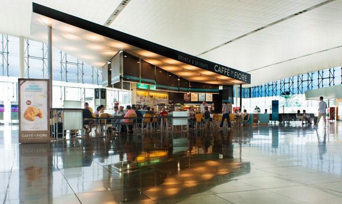 Pansfood gestiona en la nueva terminal cuatro 'Caffè di Fiore', cafeterías con lo mejor de la dieta mediterránea.