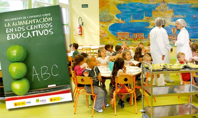 La alimentación en los centros educativos, requisitos a cumplir en los menús escolares