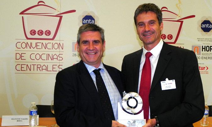 Premio Innovanta: Arcasa – Apetito. <b>Ferran Coronado</b>, director comercial de Arcasa y <b>Artur Arqués</b>, director general de Arcasa.