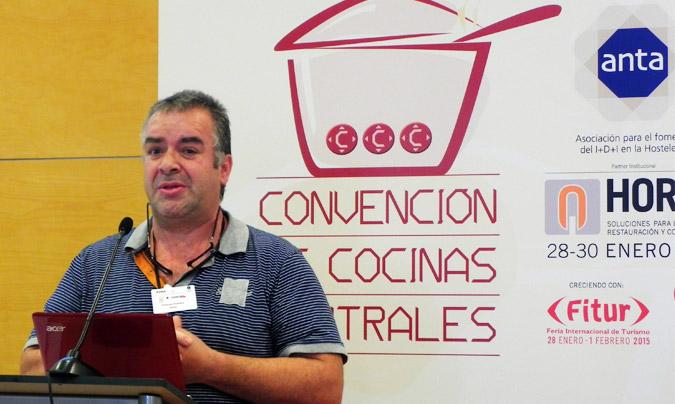 Tercera sesión: 'Uso de alimentos bio en cocinas centrales'. <b>Francesc González</b>, dtor. técnico de Bo i Sa. © Rest_colectiva.
