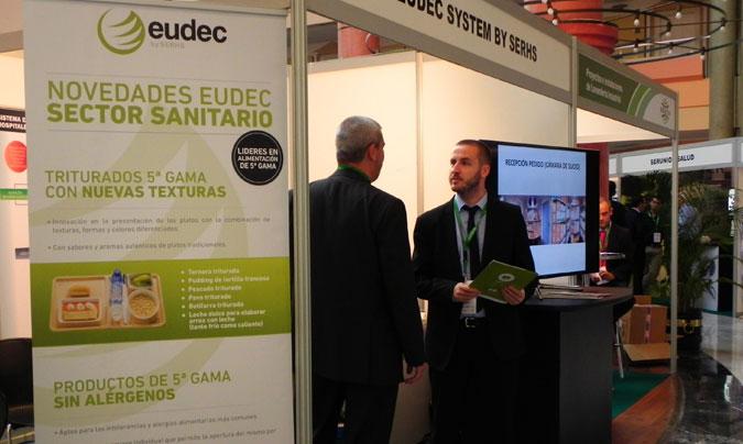 Eudec presentó en Sevilla su nueva línea de triurados y alimentos sin alérgenos. © Rest_colectiva.