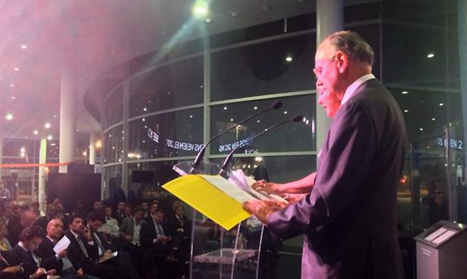 <b>Jordi Roure</b>, presidente de Hostelco, clausuró la gala de entrega de premios.