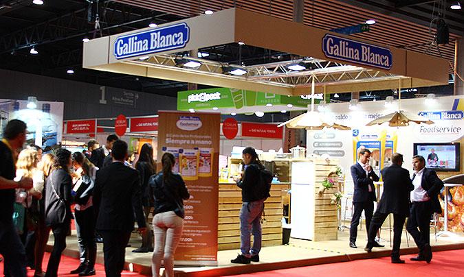 Gallina Blanca Foodservice presentó en Barcelona su amplia gama de alimentos y ayudas culinarias específicas para la hostelería. ©Rest_colectiva.