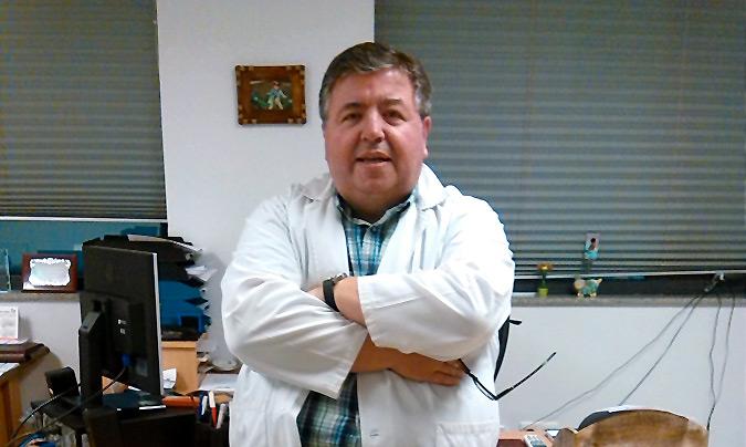 <b>Javier Vidal</b> es jefe del Servicio de Alimentación del Complejo Hospitalario Universitario de Santiago de Compostela.