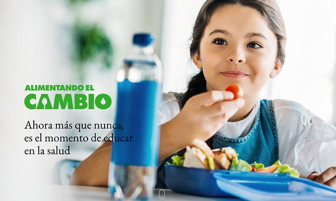 'Alimentando el cambio' programa una sesión específica dirigida a comedores escolares