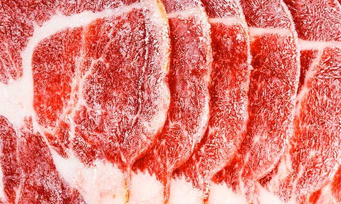 Se autoriza la congelación de carne destinada a la donación a fin de garantizar la seguridad