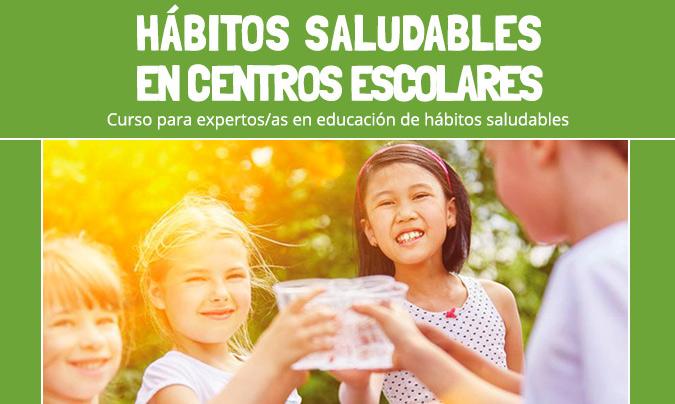 Todo a punto para la tercera edición del curso 'Hábitos saludables en centros escolares'