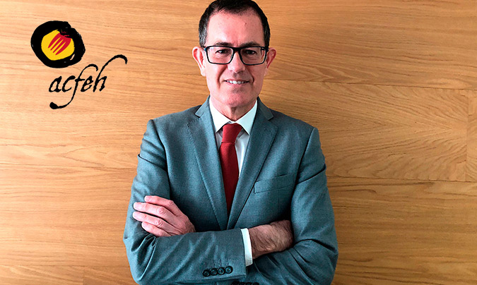 Juan José Mach, presidente de la asociación ACFEH.