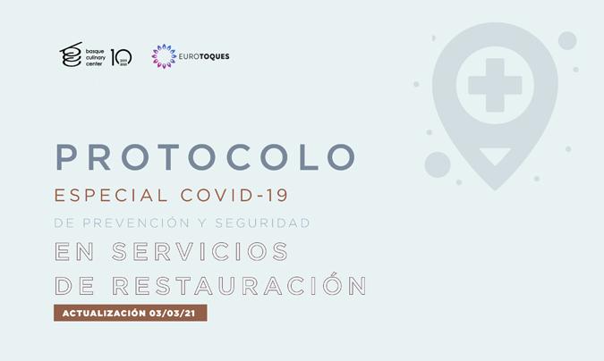 Basque Culinary Center y Euro-Toques actualizan el protocolo especial <i>Covid-19</i>