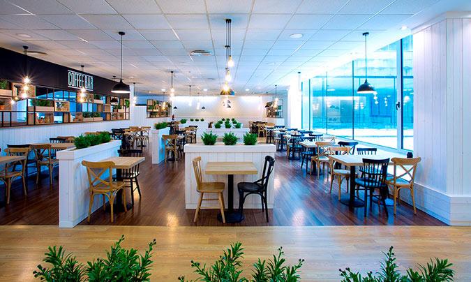 La <i>Covid</i> ha transformado el restaurante corporativo en un espacio más versátil