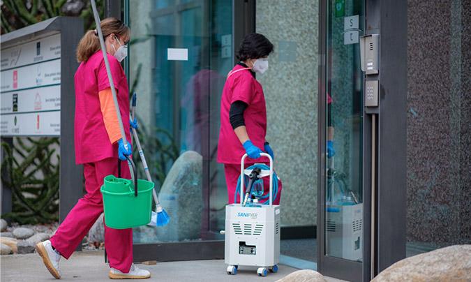 Itel certifica la fiabilidad de Sanifyer como sistema de desinfección contra la Covid-19