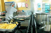 Visitas guiadas en el Hospital de Mérida, para dar visibilidad al trabajo en cocina