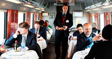 El catering ferroviario, uno de los segmentos que mejor se comportó en 2013