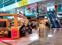 La restauración del aeropuerto de Málaga gana el Airport food court of the year