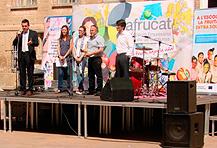 170.000 alumnos y 1.354 escuelas participan en Catalunya en el  Plan de consumo de fruta