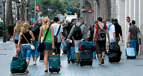 España cerrará el año 2014 consiguiendo un récord histórico de turistas extranjeros
