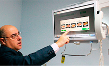 Povisa, único hospital en España con un sistema de 'e-menús' para los pacientes