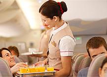 La revista Saveur premia a Emirates por su exclusiva gastronomía a bordo