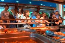 Pedagogía alimentaria en la restauración del parque de atracciones Tibidabo