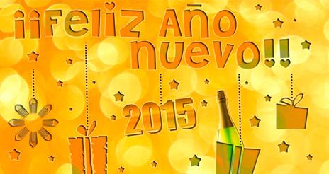 ¡¡Felices fiestas y fantástico 2015!!