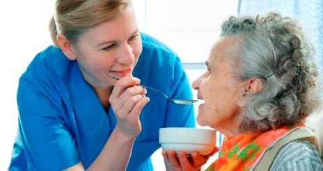 Curso on line de alimentación para cuidadores de personas dependientes