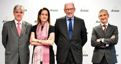 Áreas alcanza un beneficio neto de 19,5 millones de euros en el ejercicio 2013/14