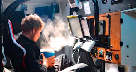 Los liofilizados, 'combustible' de los tripulantes en la vuelta al mundo a vela