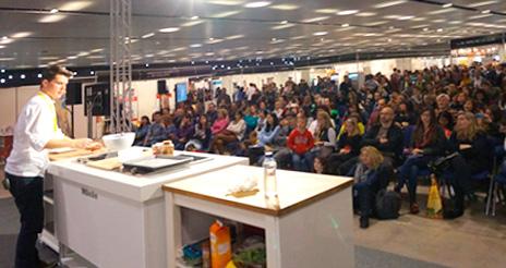 La primera edición de la BCN Gluten Free supera la cifra de 9.000 visitantes