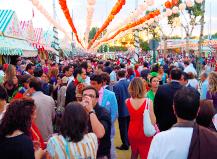 Diez consejos alimentarios para disfrutar de la Feria de Abril, su 'picoteo' y su 'rebujito'
