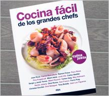 Cocina fácil de los grandes chefs, un libro solidario en favor de Fundació Cassià Just