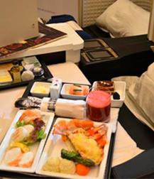 Saudia Airlines, variedad, calidad, higiene y seguridad alimentaria en menús aéreos