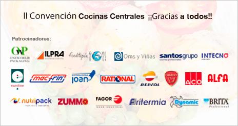 Firmas líderes del equipamiento y servicios con la II Convención de Cocinas Centrales