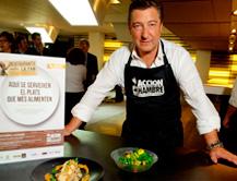 Joan Roca apadrina la sexta campaña de Restaurantes contra el hambre
