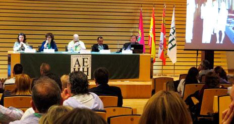Las dietas centran una de las ponencias más aplaudidas del congreso de la AEHH