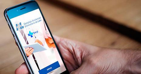 El hospital de León opta por una aplicación móvil para informar sobre los menús