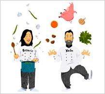Menús 'con estrella' para poner en valor la gastronomía gallega en las escuelas