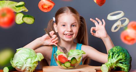 Las diez verduras que no pueden faltar nunca en los comedores escolares