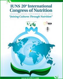 Granada acogerá, el próximo septiembre, el XX Congreso internacional de nutrición