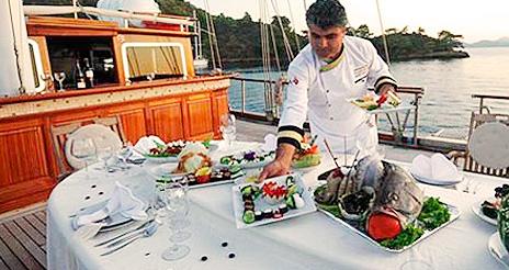 Curso exclusivo, pionero a nivel internacional, de alta cocina para chefs de superyates