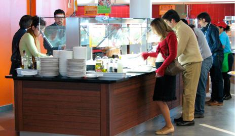 Autogrill sirve 9.000 platos diarios a empleados y clientes de Distrito Telefónica