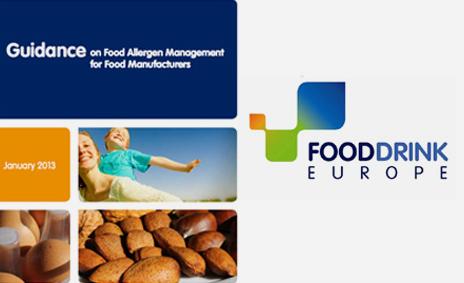 FoodDrinkEurope edita una nueva guía de gestión de alérgenos alimentarios