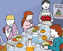 Benidoleig (Alicante) celebra su primera jornada de comedores escolares ecológicos