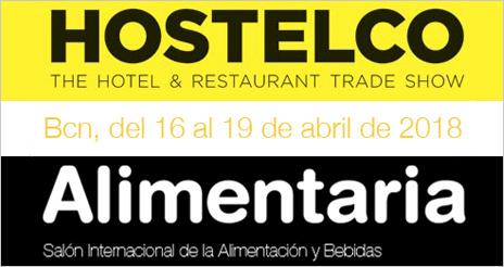 Hostelco y Alimentaria se celebrarán a la vez para crear una gran plataforma para la hostelería