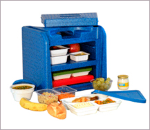 Servicio a domicilio de comidas para personas con necesidades asistenciales