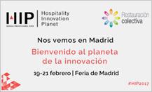El congreso Hospitality 4.0 de HIP, incluirá una sesión sobre restauración social y colectiva