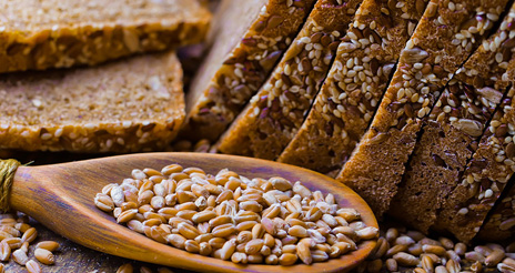 El pan y los alimentos procedentes de cereales deberían formar parte de la alimentación diaria