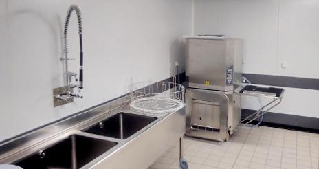 La contaminación acústica en las zonas de lavado de las cocinas profesionales