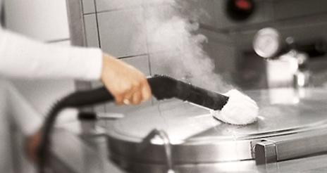 Vapor saturado seco: una solución para la limpieza y la desinfección en las cocinas