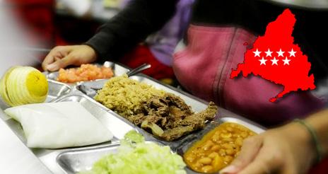 Madrid exige un profesional con formación en nutrición para supervisar los menús escolares