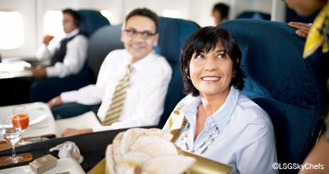 El sector aéreo encabeza el crecimiento del mercado del catering, con un aumento del 7,3%